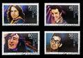 John Lennon, Jim Morrison, Elvis Presley and Buddy Stock Photos