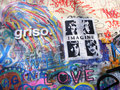 John Lennon Wall, Prague Royalty Free Stock Images