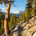 John Muir Trail & Pacific Crest Trail Royalty Free Stock Photo