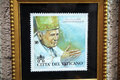John-paul II stamp Royalty Free Stock Photo