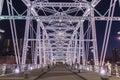 John Seigenthaler Pedestrian Bridge Royalty Free Stock Photo