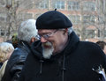 John Sinclair at Ann Arbor Hash Bash 2014 Royalty Free Stock Photo
