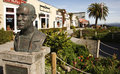 John Steinbeck Bust Royalty Free Stock Image