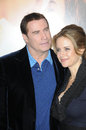 John Travolta,Kelly Preston Stock Photo