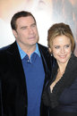 John Travolta,Kelly Preston Royalty Free Stock Image