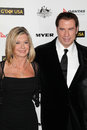 John travolta olivia newton john at the g day usa australia week black tie gala hollywood palladium hollywood ca Stock Photos