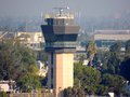 John Wayne Airport Control Tower Royalty Free Stock Photo
