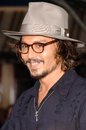 Johnny depp the dead at premiere of disney s pirates of caribbean man s chest disneyland anaheim ca Stock Photography