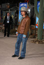 Johnny depp los angeles feb arrives at the rango premiere at village theater on february in westwood ca Royalty Free Stock Image