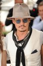 Johnny depp photocall his movie pirates caribbean stranger tides th festival de cannes may cannes france picture paul smith Stock Images