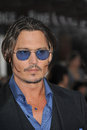 Johnny Depp,Public Enemy Royalty Free Stock Images