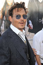 Johnny depp ranger at the world premiere of his new movie the lone at disney california adventure june anaheim ca picture paul Royalty Free Stock Photos