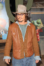 Johnny depp at the rango los angeles premiere village theater westwood ca Royalty Free Stock Photography