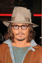Johnny depp at the rango los angeles premiere village theater westwood ca at the rango los angeles premiere village theater Stock Image