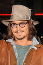 Johnny depp at the rango los angeles premiere village theater westwood ca at the rango los angeles premiere village theater Stock Photo