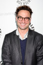 Johnny galecki big bang arriving at the theory paleyfest event on april at the arclight theaters in los angeles california Stock Images