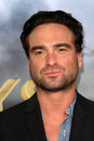 Johnny galecki at the cowboys aliens world premiere san diego civic theatre san diego ca Royalty Free Stock Photo