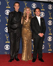 Johnny Galecki,Kaley Cuoco,Jim Parsons,JIM PARSON Stock Image