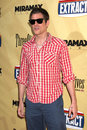 Johnny knoxville arriving at the extract premiere at the arclight theater in los angeles ca on august Stock Photos