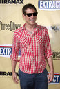 Johnny knoxville arriving at the extract premiere at the arclight theater in los angeles ca on august Stock Photo