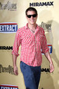 Johnny knoxville arriving at the extract premiere at the arclight theater in los angeles ca on august Stock Photography