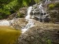 Johor National Park Waterfall,Malaysia Royalty Free Stock Photo