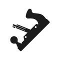Joinery tool Vector black icon on white background.