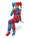 Joker Girl Royalty Free Stock Photo