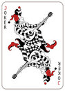 Joker Playing Card Royalty Free Stock Images