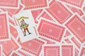 Joker on playing cards Royalty Free Stock Photo