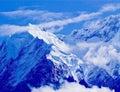 jokul at tibet,china Royalty Free Stock Photo