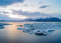 Jokulsarlon iceland site for floating ice bergs Stock Photos
