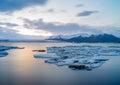 Jokulsarlon iceland site for floating ice bergs Stock Photos