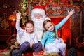 Jolly children Royalty Free Stock Photo
