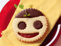 Jolly cookie Stock Images