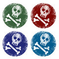 Jolly roger signs Stock Image