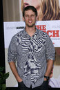 Jon heder at the switch world premiere chinese theater hollywood ca Stock Images