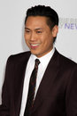 Jon M. Chu, Justin Bieber Royalty Free Stock Photo