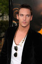 Jonathan rhys meyers arriving soloist premiere paramount studios los angeles california april Royalty Free Stock Photo