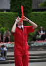 Jonathon Burns, World Buskers Festival Stock Image
