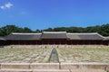 Jongmyo в сеу е корее Стоковое Изображение
