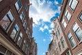 Jordaan neighbourhood architecture in Amsterdam-Centrum, the Netherlands.