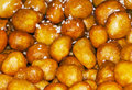 Jordanian typical sweet foodforming a fund Royalty Free Stock Images