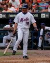 Jose valentin new york mets infielder Stock Image