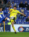Joseba Llorente of Villareal Stock Images