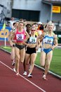 Josef Odlozil Memorial - 800 meters woman race Stock Photo