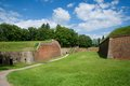 Josefov czech republic military fortress from the th century in eastern bohemia Stock Image