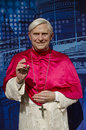 Joseph aloisius ratzinger in the famous wax museum madame tussauds london england Stock Photography