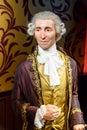 Joseph Haydn Figurine At Madame Tussauds Wax Museum Royalty Free Stock Photo