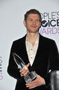 Joseph morgan los angeles ca january in the pressroom at the people s choice awards at the nokia theatre la live Stock Photos